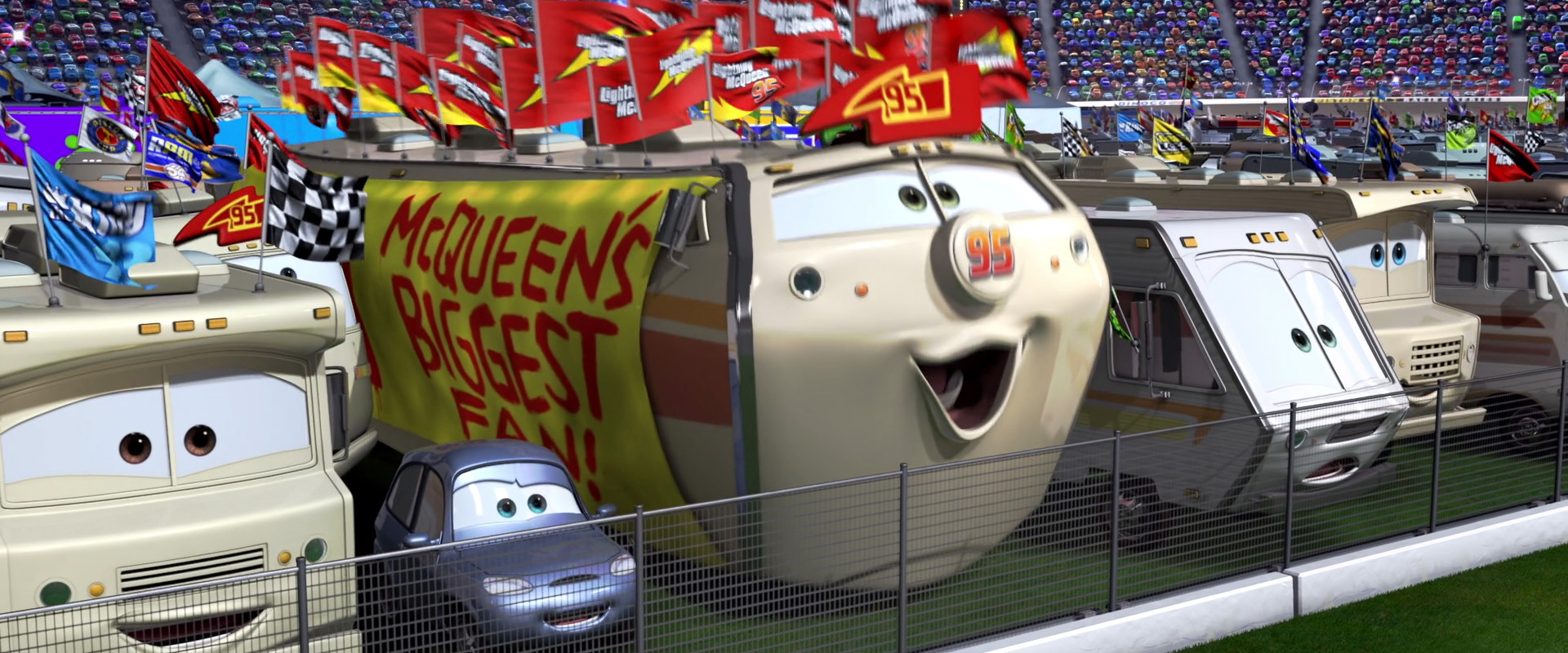 Disney Cars 1 Piston Cup Race Fans Bed And Breakfast