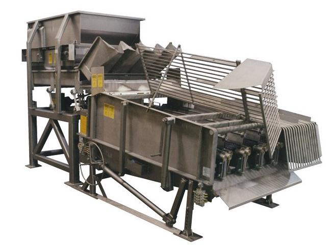 Mısır soyma makinesi genel görünüm