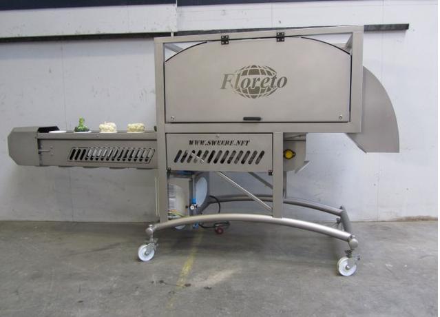 Floreto - karnıbahar, brokoli kesim makinesi