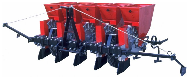 Pnömatik sarımsak ekim makinesi