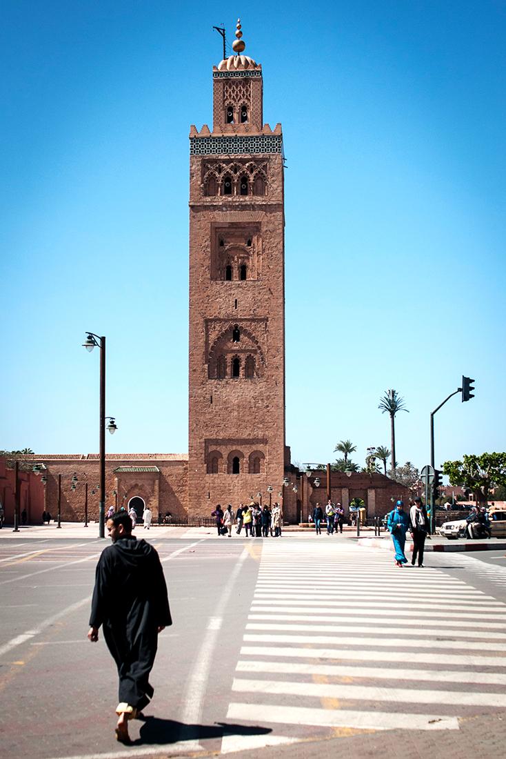 verso la moschea - Marrakech