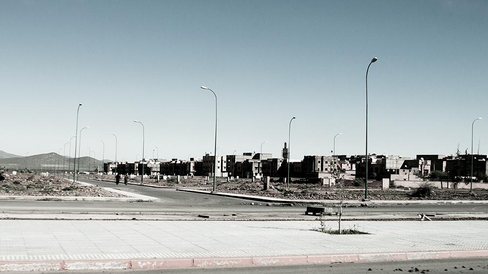 desolazione di una periferia - Marocco
