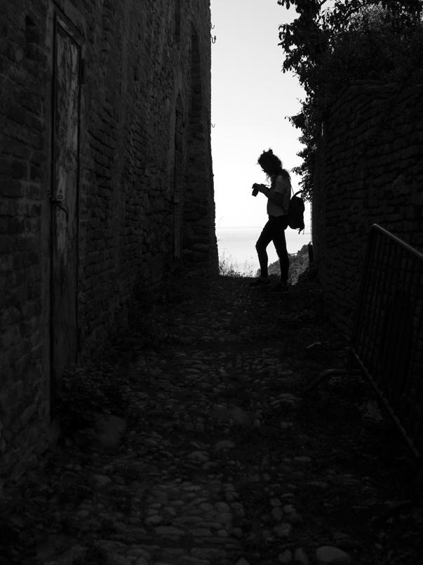 silhouette - Lucrezia