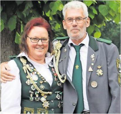 Seniorenkönigspaar; Karin Vagts und Klaus König  (Foto Privat)