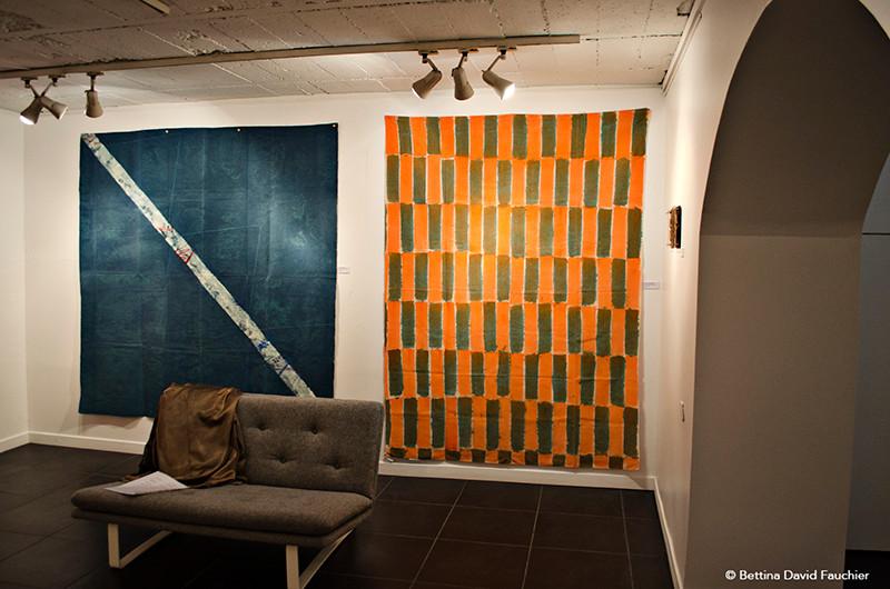 Joël Fremiot Serge Fauchier galerie Artset Limoges ©BD-F