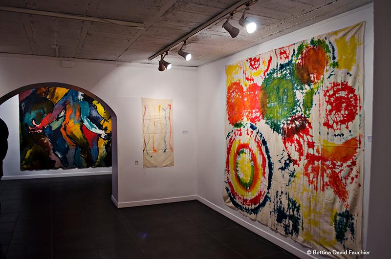 Joël Desbouiges Geneviève Jamart  galerie Artset Limoges ©BD-F