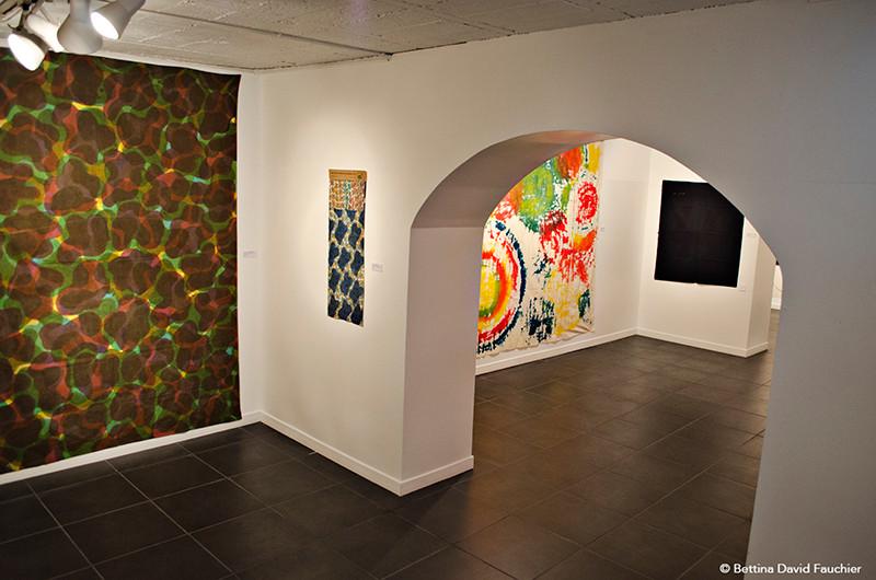 Alain Grandjean Geneviève Jamart Claude Viallat  galerie Artset Limoges ©BD-F