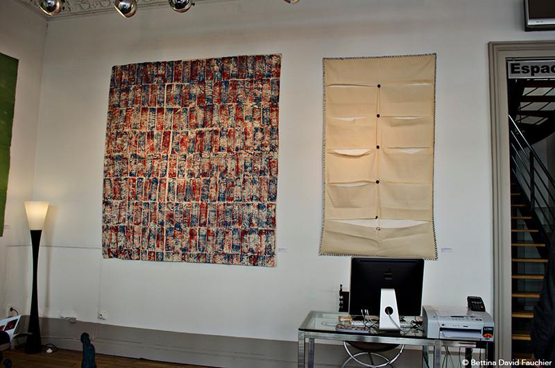 Serge Fauchier Alain Grandjean galerie Artset Limoges ©BD-F