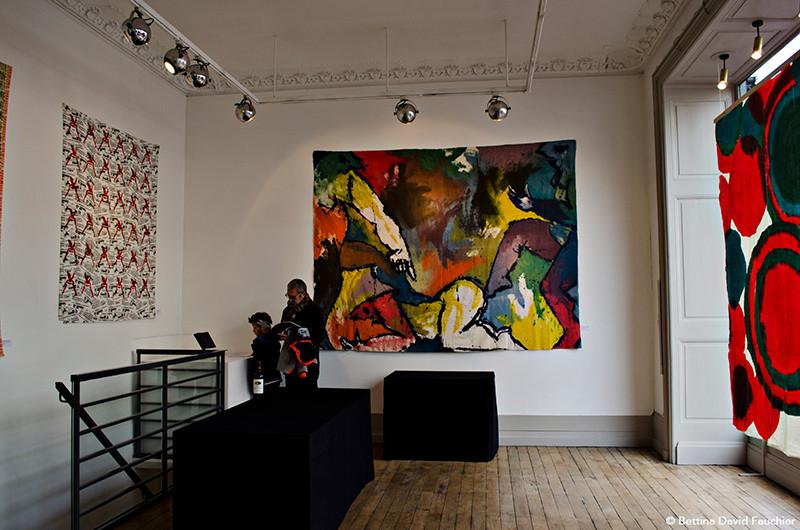 Remy Penard Joël Desbouiges Geneviève Jamart galerie Artset Limoges ©BD-F