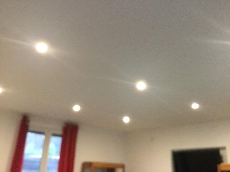 Eclairage moderne à spots led