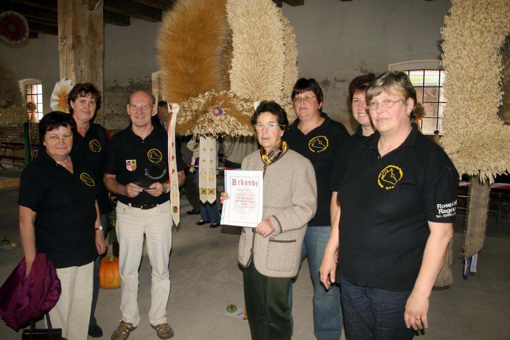 Gewinner des Erntekronenwettbewerbs