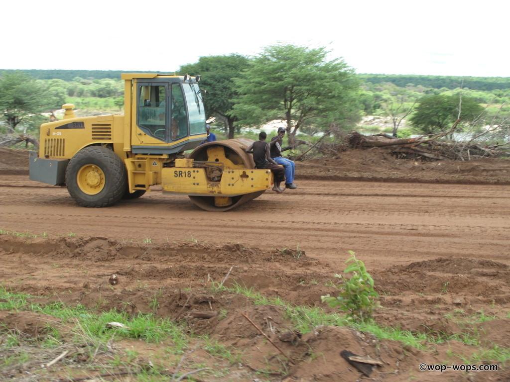 Road worker, Tanzania, 2011