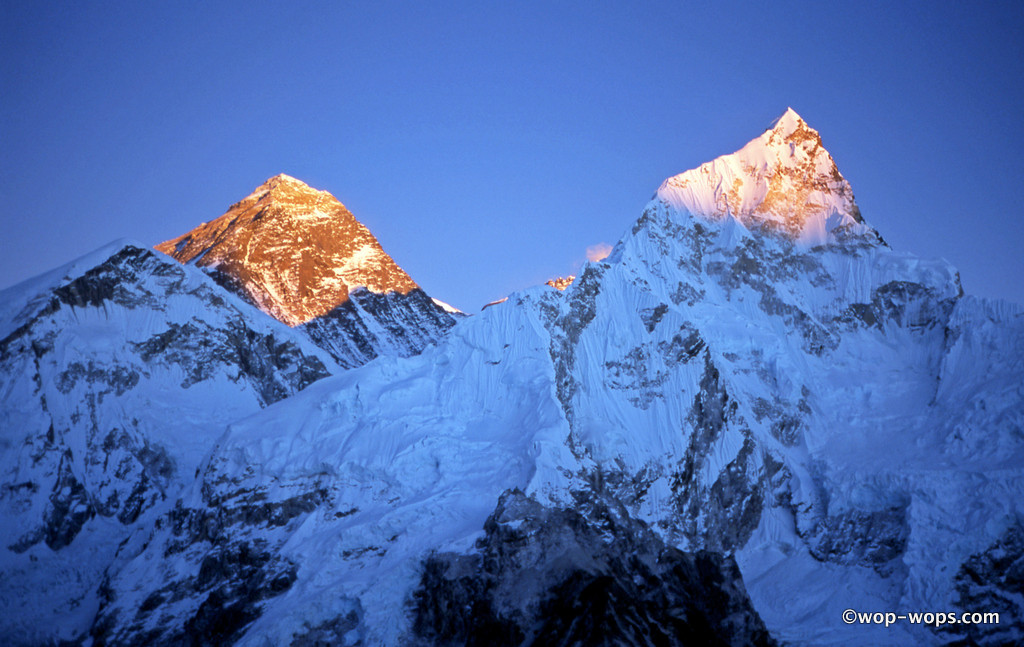 Everest and Nuptse, Nepal, 2004
