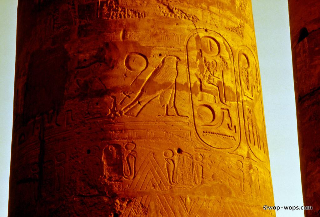 Luxor Karnak temple, Egypt, 1999