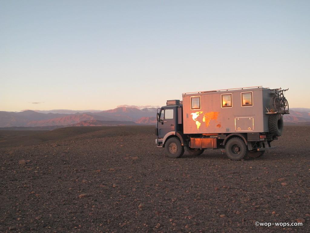 Desert camp, Morocco, 2012
