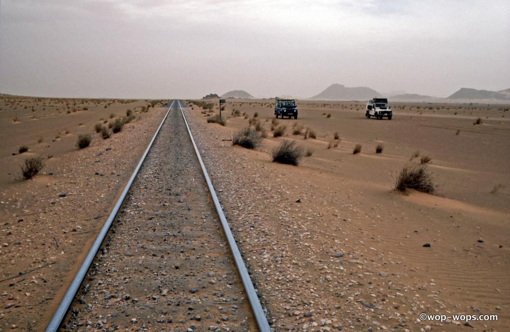 Nouadhibou-Atar Railway, Mauretania, 1994