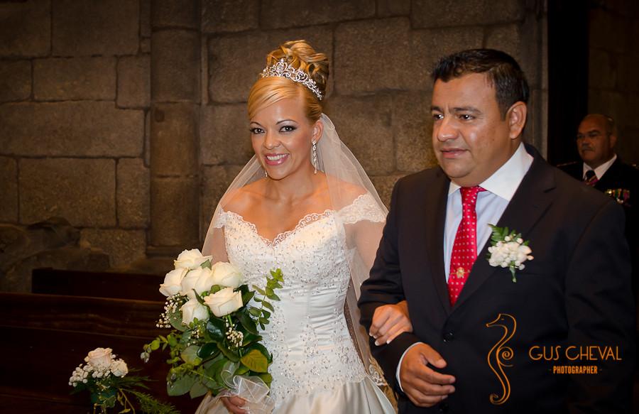 Catedral de Santiago, boda en la Corticela