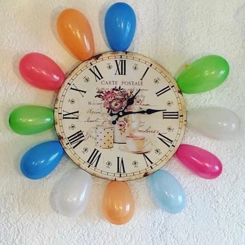 Countdown, Silvester-Countdown, Luftballons, Countdown-Bag, Silvester, Luftballons, Uhr