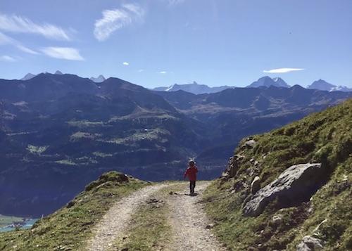 Wandern, Schweiz, Planalp, Brienzersee, Schweiz, Alpen, Berge