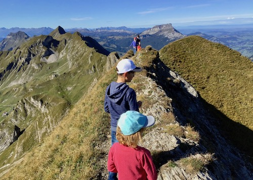 Gratwanderung, Panorama, Brienz, Rothorn, Wanderung, Aussicht, Schweizer Berge