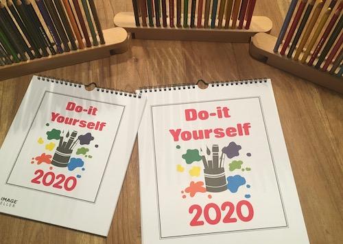 Bastelkalender, Farbstifte, Do-it Yourself