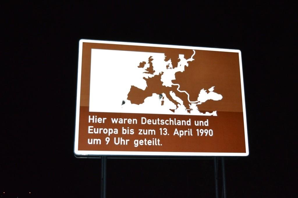 An der ehemaligen innerdeutschen Grenze
