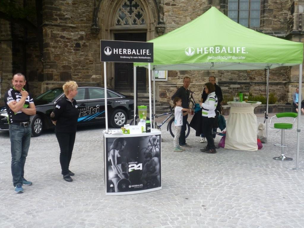Das Team von HERBALIFE