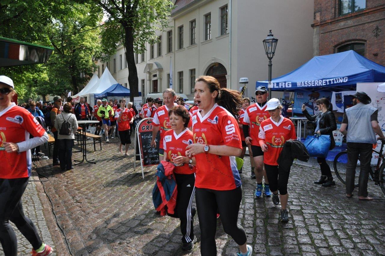 Lauf in der Wallstraße