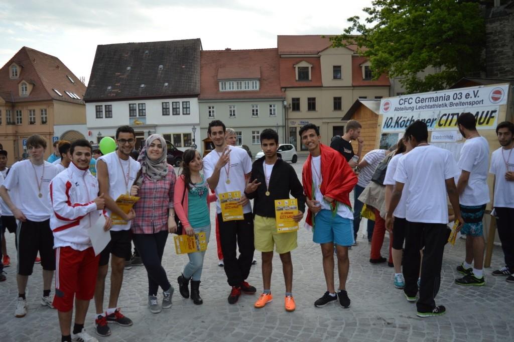 Studenten des Landesstudienkolleg HS Anhalt