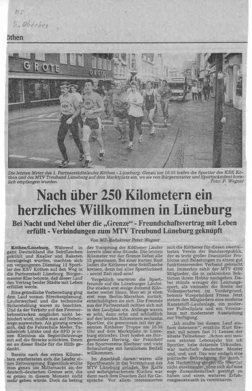 08. Oktober 1990 - Mitteldeutsche Zeitung