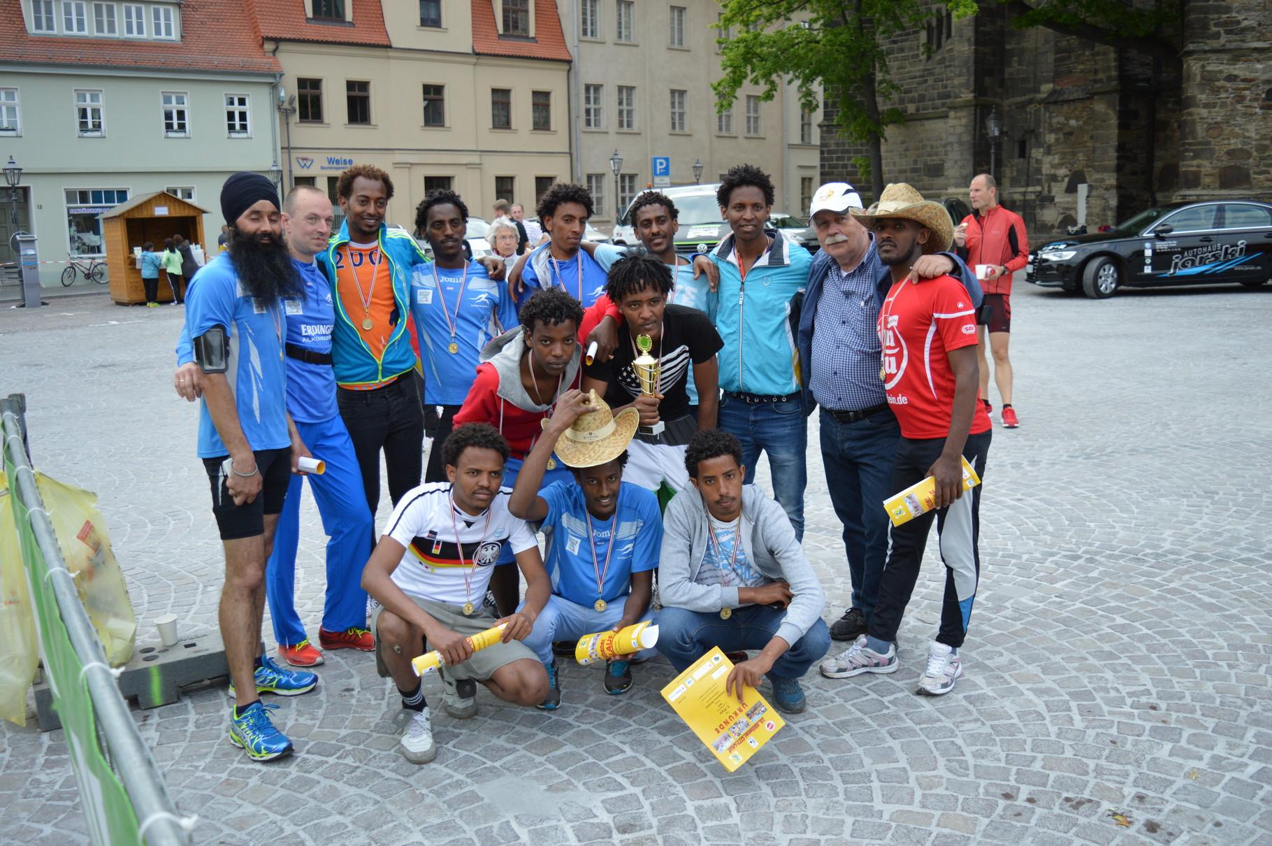 Die Läufer von Goitzsche-Sport