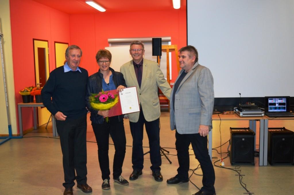 Auszeichnung von Gitta