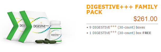 DIGESTIVE+++ FAMILY PACK