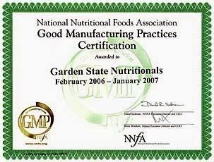 Сертификат GMP Laminine