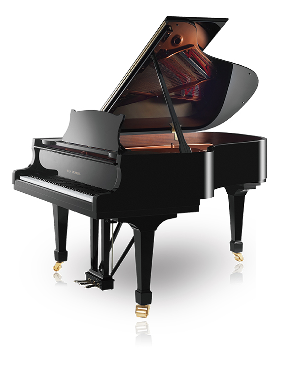 Grand piano quart de queue 16 990 € T.T.C. Steinberg P-187 cm noir verni  ( 17 910 € T.T.C. blanc)