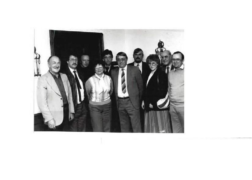 Der erste Vorstand 17. April 1985