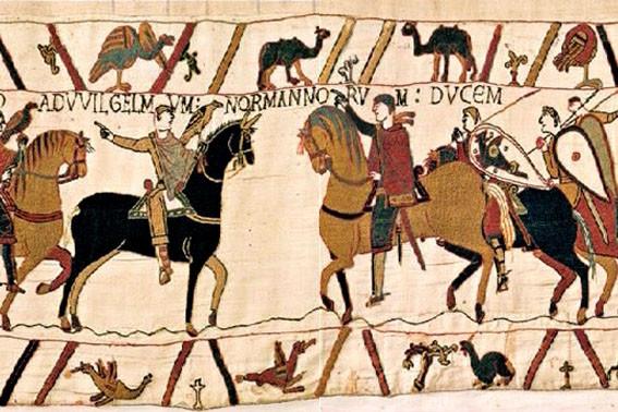 Tapisserie de Bayeux à 1h15