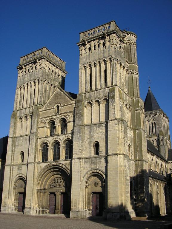 Abbaye aux Dames_Caen à 1h