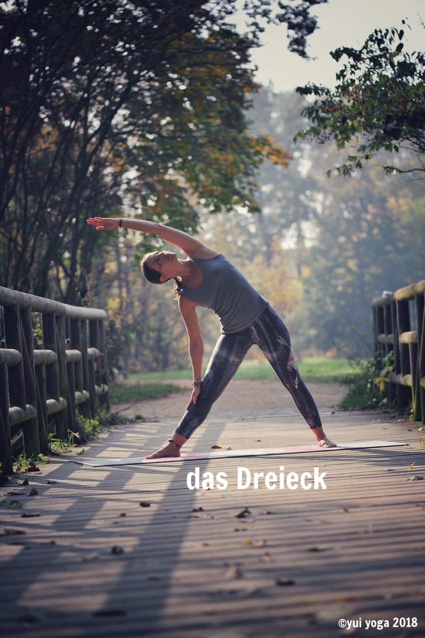 Hatha Yoga Position: Dreieck