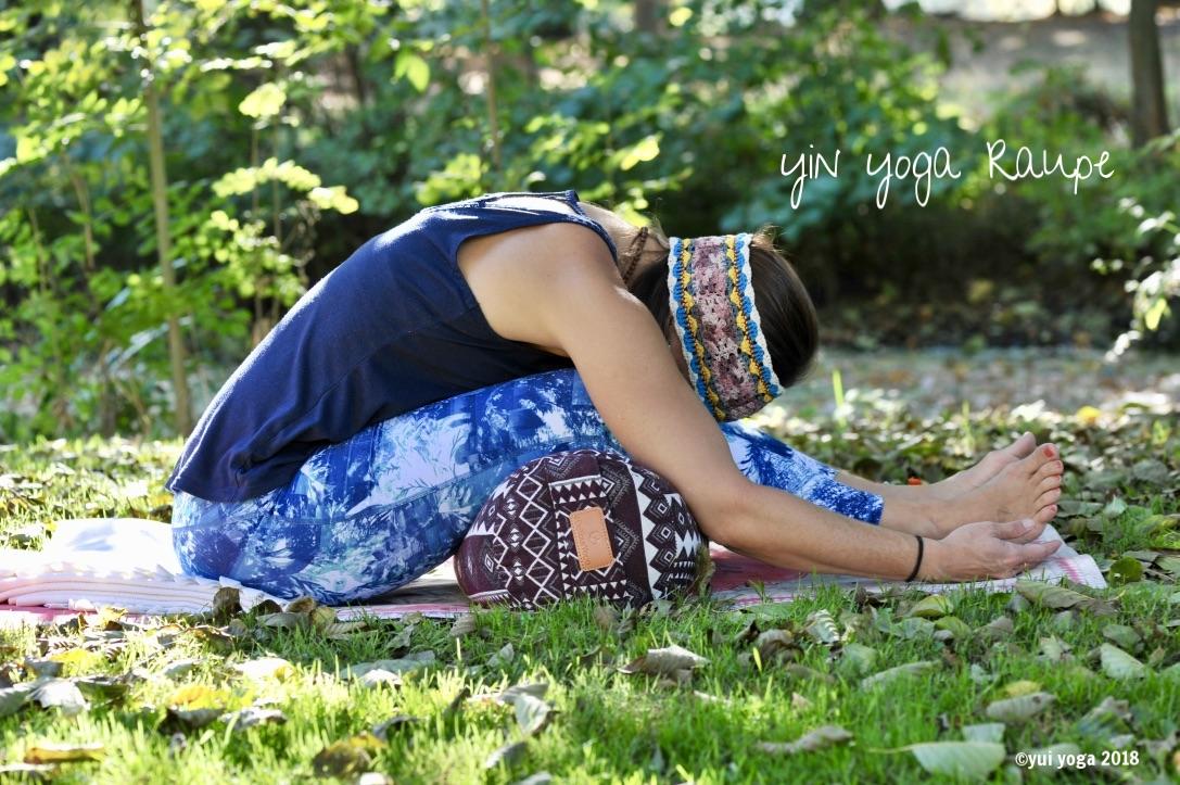 Yin Yoga Position: Raupe