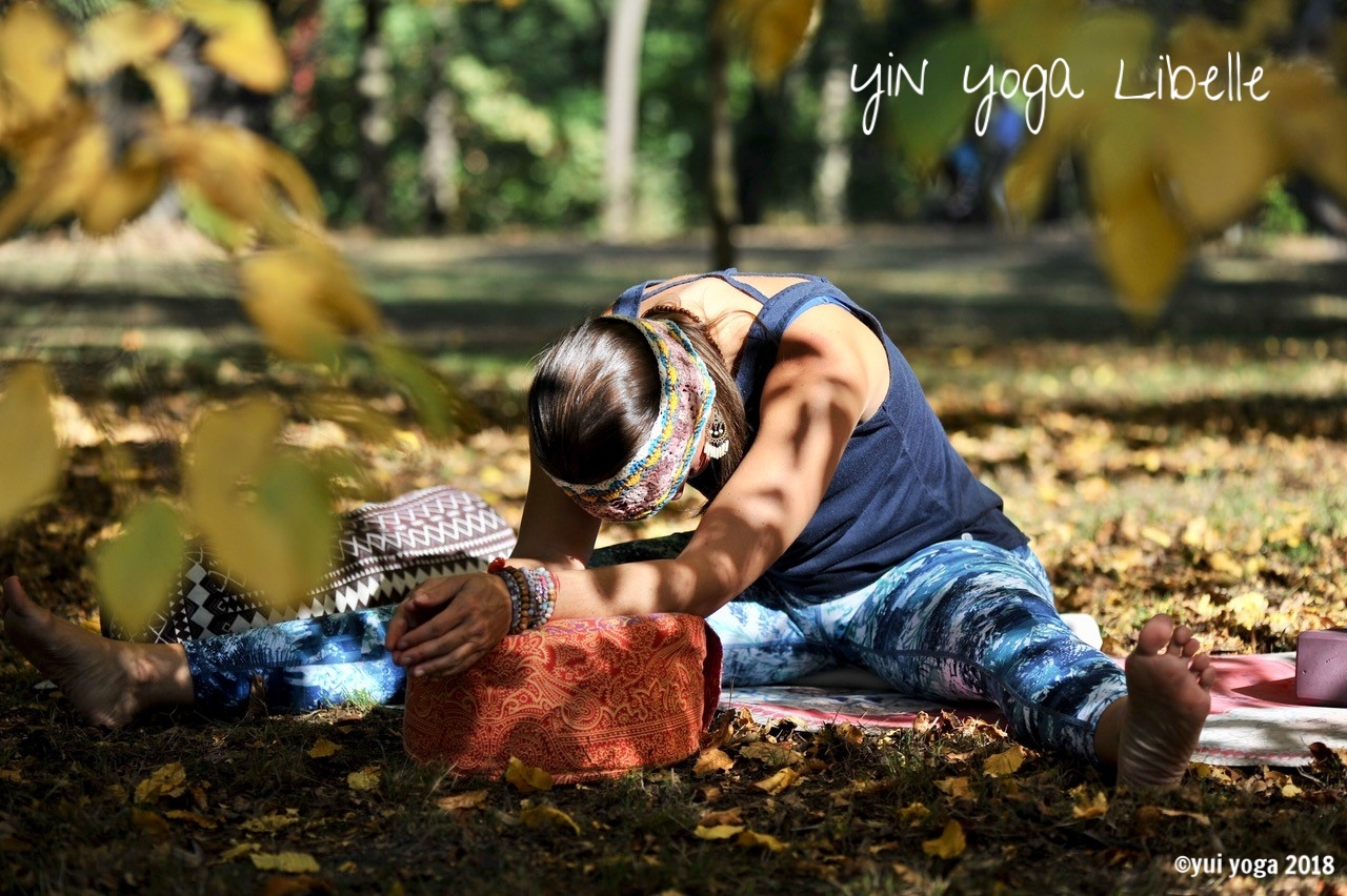 Yin Yoga Position: Libelle