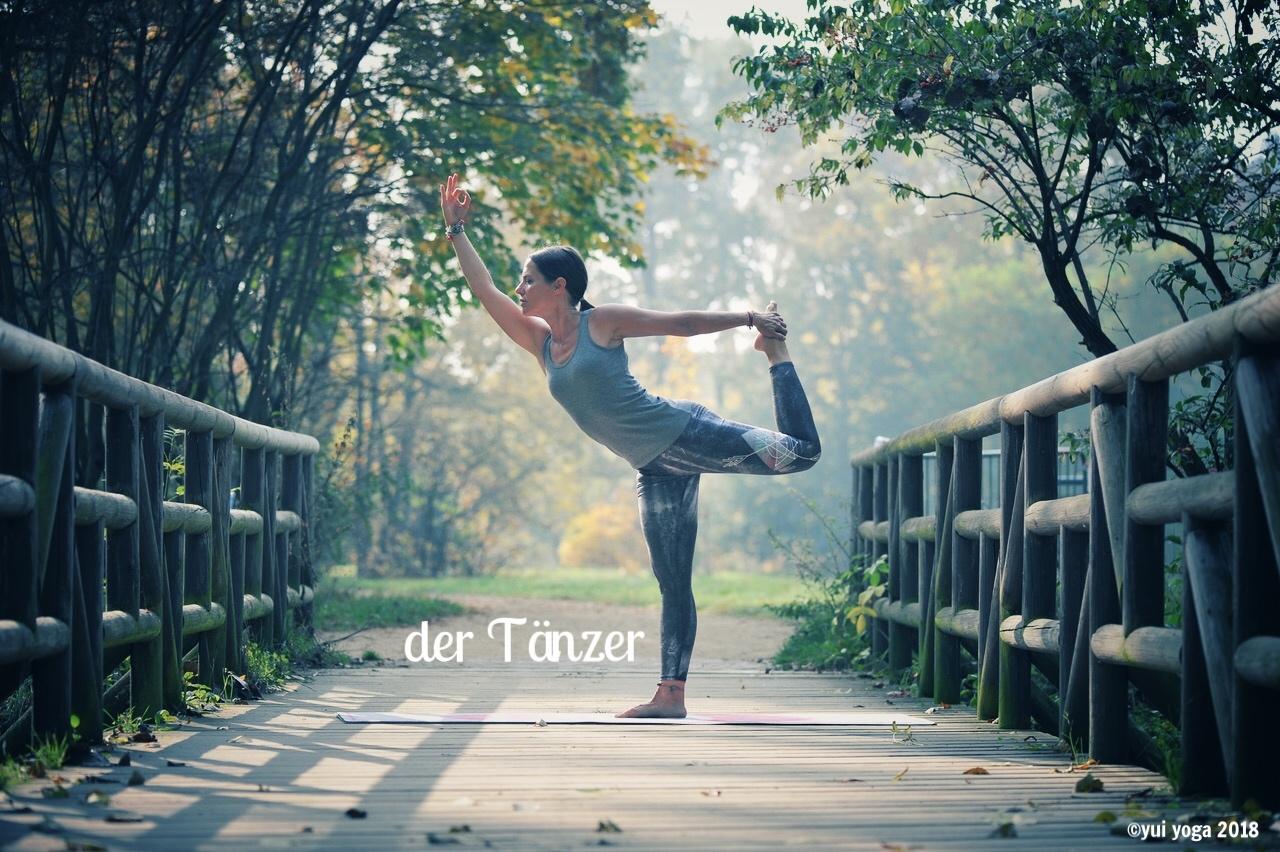 Hatha Yoga Position: Tänzer