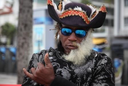 Außergewöhnliche Typen findet man hier in Miami an jeder Ecke...