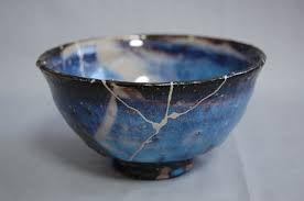 Tasse céramique Gintsugi.