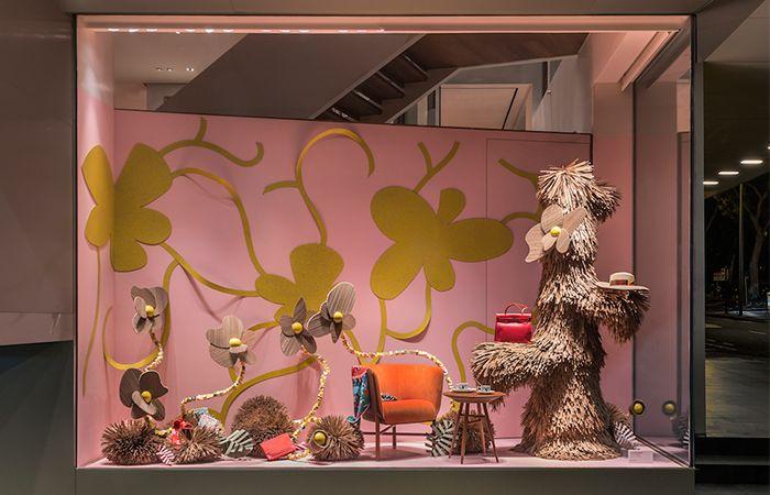 Vitrine 2019, Hermès SINGAPORE - COPYRIGHT   LILIAN DAUBISSE