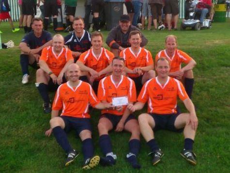 Die Sieger des Altherren-Amtspokalturniers 2014: Das Team DoppelPASS