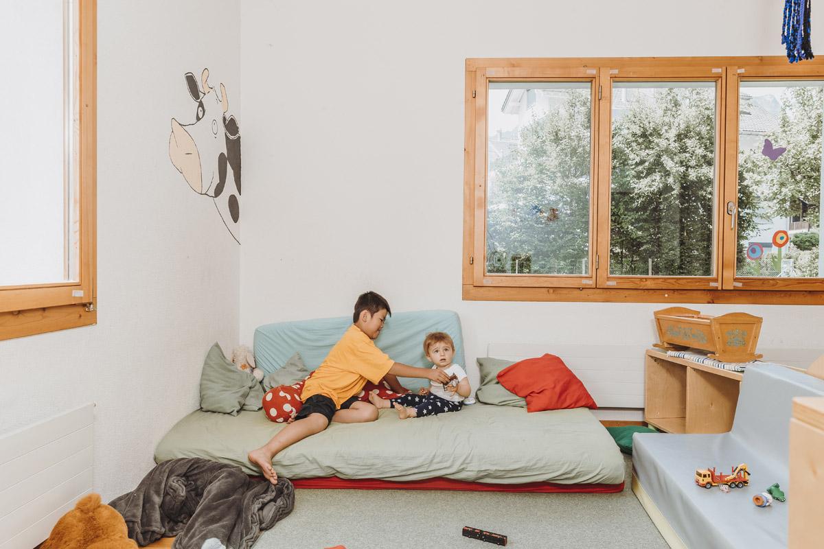 Spielzimmer Kinderbetreuung