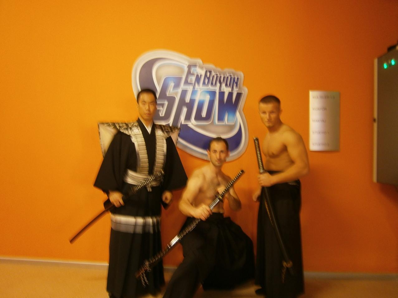 Hayashi the Samurai und Kayhan Gülmez