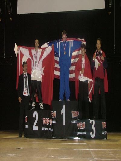 Kickboxen WKA WM 2004 Kayhan Gülmez Team Jade Krieger Mannheim