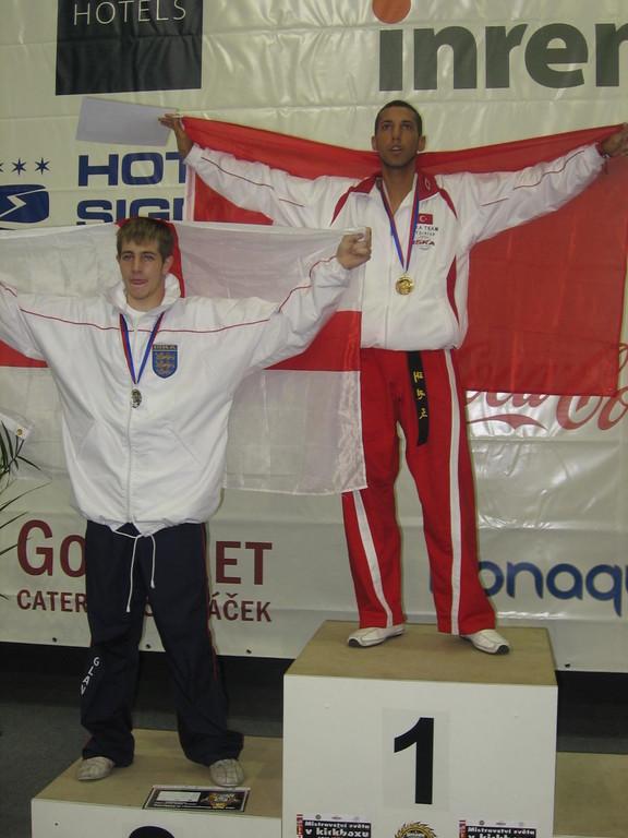ISKA WM 2008 Kayhan Gülmez Team Jade Krieger Mannheim Omnis Fight Gym